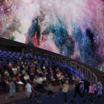 Interior of the Planetarium at The Phillip and Patricia Frost Museum of Science. (Photo: Business Wire)