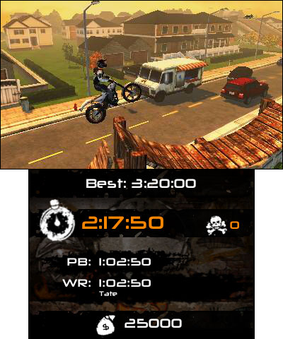 The sequel to the popular urban-themed stunt bike racer has launched exclusively on the Nintendo 3DS family of systems. (Graphic: Business Wire)