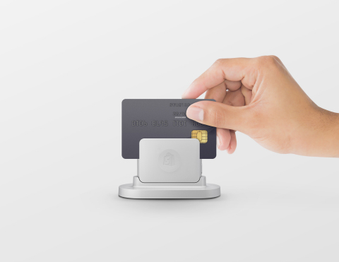 Shopify's Chip and Swipe card reader (Photo: Business Wire)