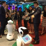 IBM Watson-powered QIHAN Sanbot Brings AI to Life at IBM Forum 2017