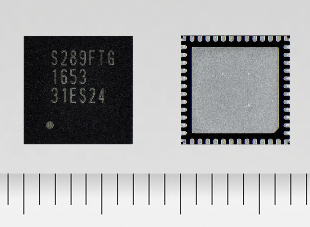 """Toshiba: """"TB67S289FTG,"""" a stepping motor driver with a Toshiba developed architecture that automatically detects and prevents stalling during operation. (Photo: Business Wire)"""