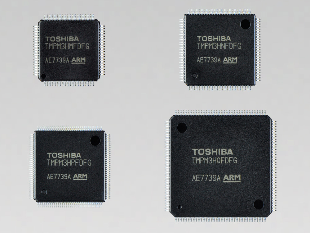 """Toshiba: """"M3H group (2),"""" the third product group in the TXZ(TM) Family of low-power, high-speed microcontrollers based on the ARM(R) Cortex(R)-M core. (Photo: Business Wire)"""