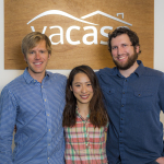 Vacasa product team (from left to right): Travis Green - Product Lead; Chen Chen - Data Scientist; Nick Mote - Machine Learning Expert (Photo: Business Wire)