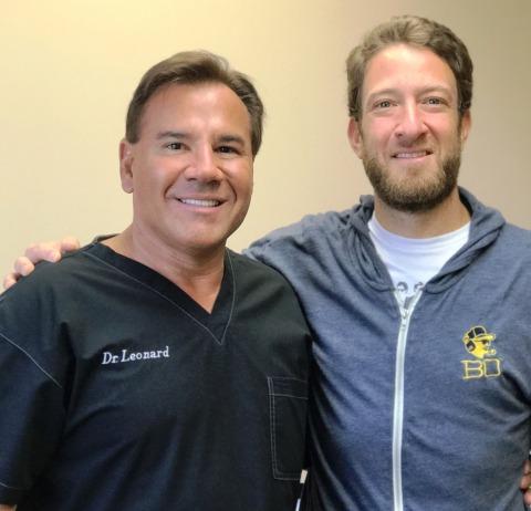 Barstool Sports founder David Portnoy is the latest celebrity to be treated by Drs. Robert Leonard and Matthew Lopresti of Leonard Hair Transplant Associates. (Photo: Business Wire)