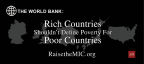 """As part of its campaign to have the World Bank overhaul its country income classification system, AHF launched a new 'Raise the MIC' ad in the DC area headlined, """"Rich countries should not define poverty for poor countries,"""" as part of its effort to have the World Bank fix its country classification system. (Graphic: Business Wire)"""