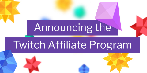 The Twitch Affiliate Program will enable viewers to support the broader creator community by inviting non-partnered qualifying creators to earn revenue through on-platform tools previously only available to Twitch partnered creators. (Graphic: Business Wire)