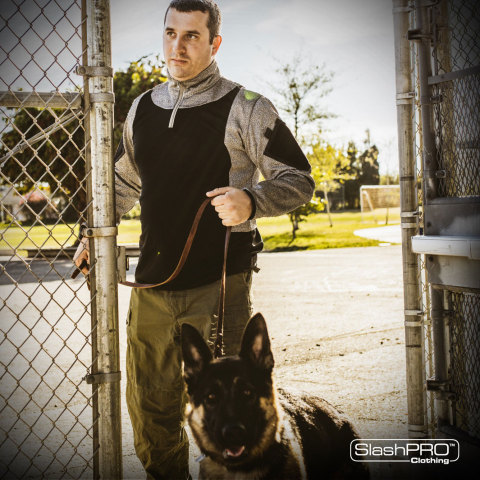 SlashPRO Slash Resistant Clothing can effectively help protect professionals working within hostile  ...