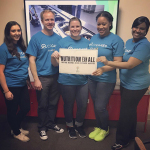 CF's Atlanta team supporting Project Open Hand (Photo: Business Wire)