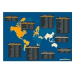 Global distribution of ATLAS centers (Graphic: Business Wire)