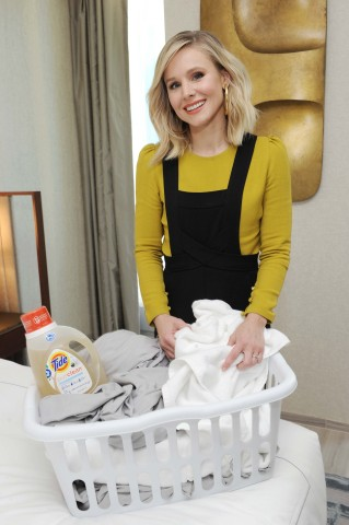 Tide purclean, WWF and actress Kristen Bell launched a joint effort to convert as many households po ...