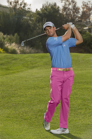 PGA TOUR golf pro and RBC Heritage champion, Wesley Bryan, wearing the Skechers GO GOLF Pro 2. (Phot ...