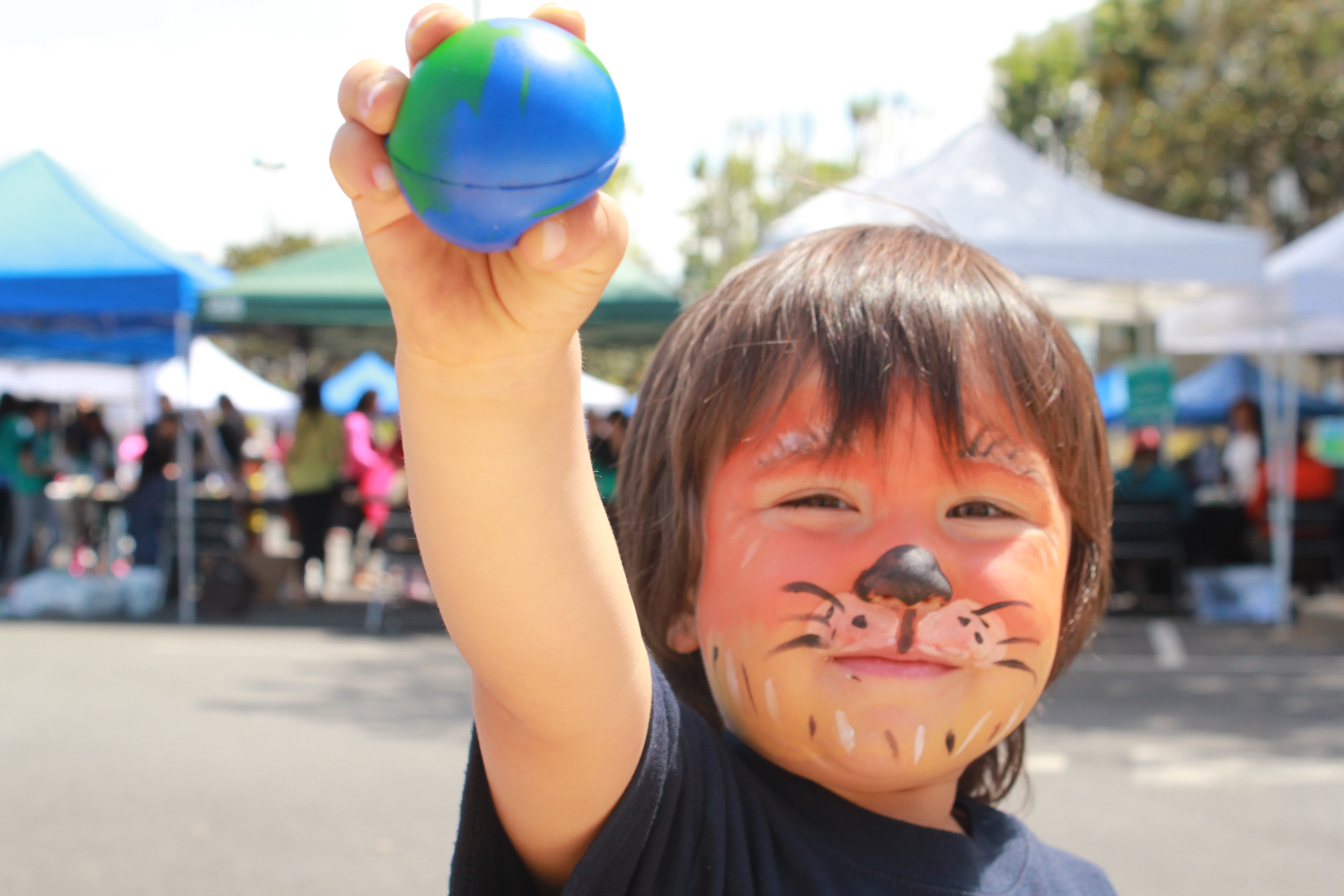 Mateo is looking forward to Let's Go Green Together 2017 on April 22, 2017, at Washington Hospital Healthcare System in Fremont, California. This fun and educational event reflects the Hospital's commitment to environmental stewardship in health care, and is part of Earth Day 2017 celebrations around the world. (Photo: Business Wire)