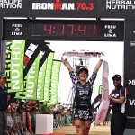 Available on Business Wire's Website and the Associated Press Photo Network:Herbalife Nutrition Sponsored Triathlete Heather Jackson Wins IRONMAN 70.3 Peru and Donates Proceeds to the Peruvian People Affected by the Floods