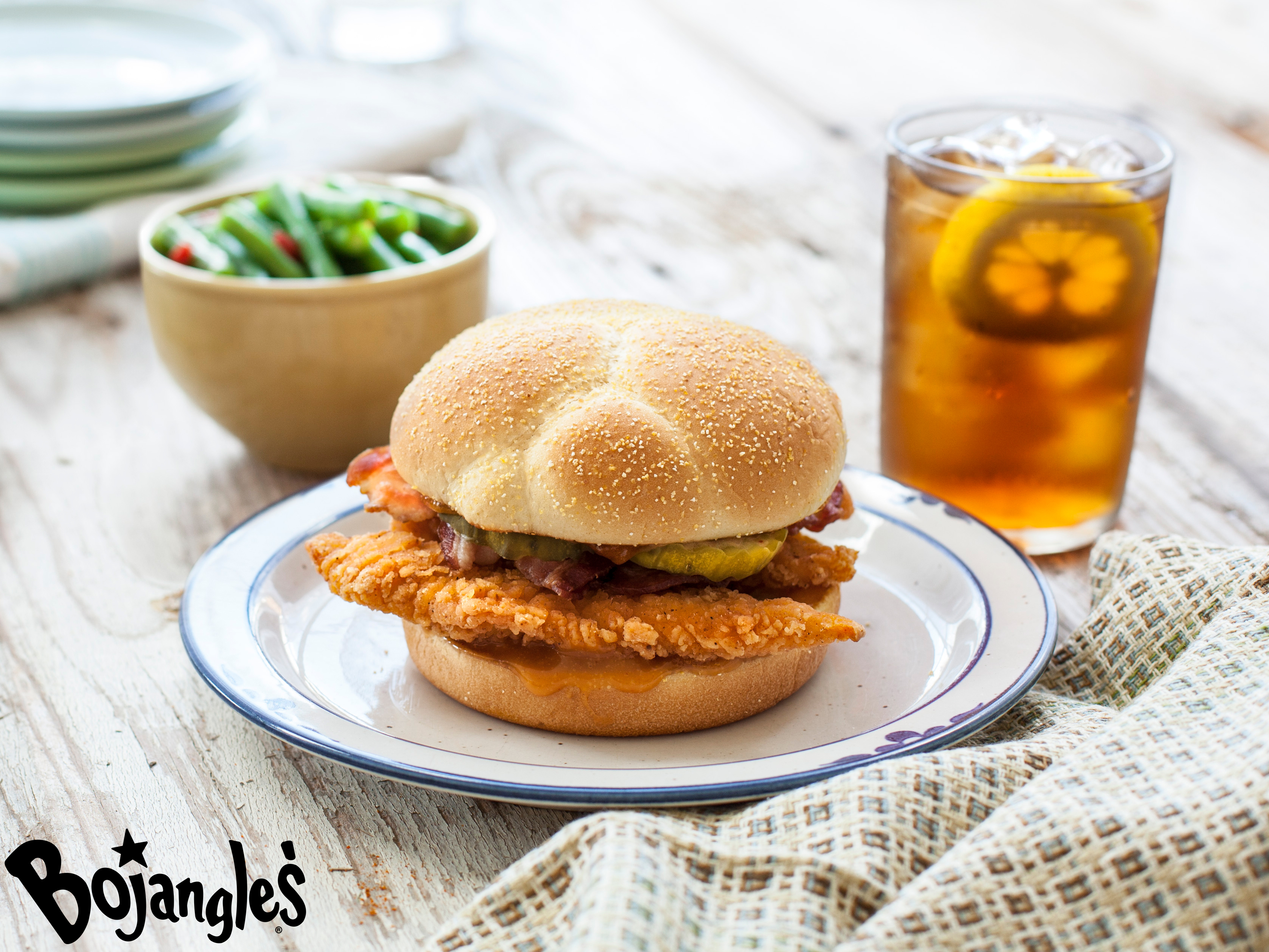 At Bojangles', it's our promise to always make life flavorful. And we have just the sandwich to do this – our newest limited time offering, the Bojangles' Chicken Supremes™ Sandwich. (Photo: Bojangles')
