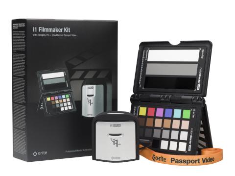 X-RITE i1PROFILER COMPATIBLE 4K POUR i1DISPLAY ET i1PRO2–SOLUTION PRIMÉE D'ÉTALONNAGE COULEUR DESTINÉE AUX RÉALISATEURS: le colorimètre X-Rite i1Display Pro et le spectrophotometère i1Pro2 à présent optimisés pour les marchés de l'imagerie, avec des résultats couleur époustouflants et les toutes dernières mises à jour du logiciel i1Profiler, compatible avec les écrans 4k+ à haute DPI. Le i1Display Pro offre aux réalisateurs, cinématographes, coloristes et éditeurs, des outils d'édition rentables et rapides dans un environnement professionnel de gestion des couleurs, durant tout le processus de production vidéo. Fort d'une expérience d'un siècle dans les sciences théoriques des couleurs, X-Rite continue de faire figure de référence de confiance en terme d'innovation, à l'heure où les projets entrent à grande vitesse dans le monde fortement concurrencé de la DPI HD. La solution i1Display Pro fournit un étalonnage des couleurs primé et élimine d'innombrables heures de postproduction @NAB 2017. Démonstration de calibrage d'écran X-Rite aux stands Atomos C8925 ou C9425 / B&H Photo/Video C10916 ou C3056DP. (Photo: Business Wire)