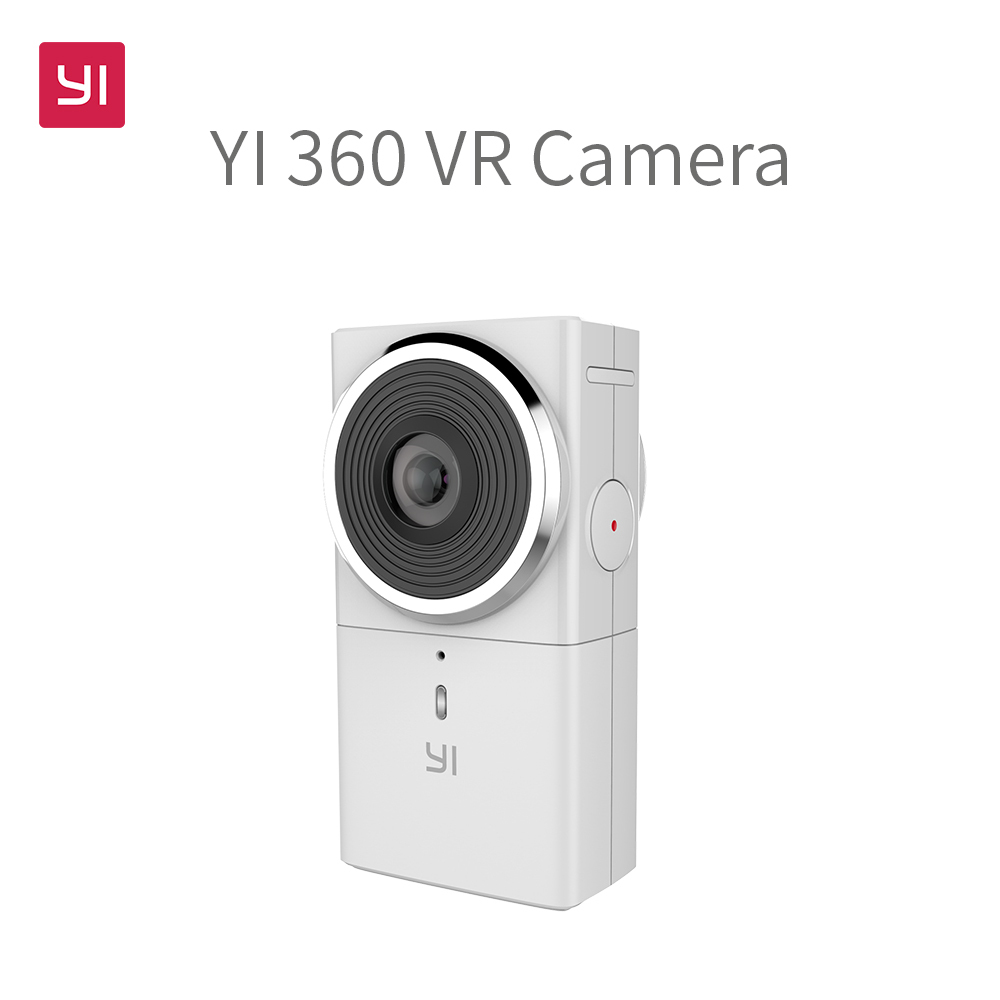 The YI 360 VR™ is the first VR camera to combine high-fidelity, 360-degree video capture, mobile application for easy use along with 4K instant, in-device stitching and 2.5K live-streaming to any sharing channel. (Photo: Business Wire)