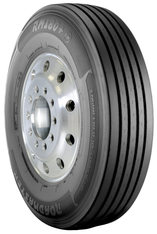 The Roadmaster RM180+(EM) steer tire is now available in load range H. (Photo: Business Wire)