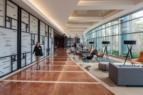 One Glenlake Lobby (Photo: Business Wire)