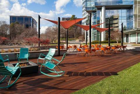 One Glenlake new exterior patio (Photo: Business Wire)