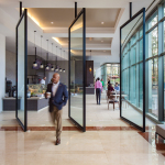 One Glenlake lobby and cafe (Photo: Business Wire)