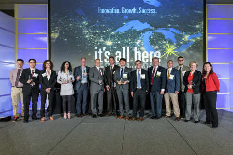 Ann Arbor SPARK Honors 2016 and 2017 FastTrack Award Winners (Photo: Business Wire)