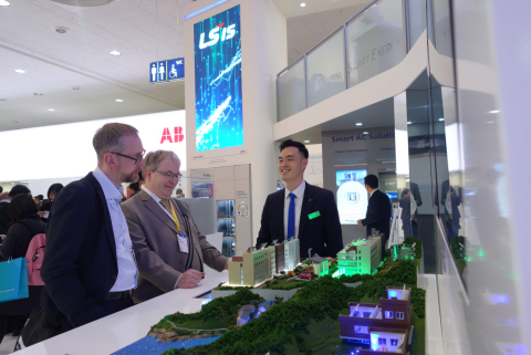 LSIS, Shows of Smart Connected Solutions at Hannover Messe (Photo: Business Wire)