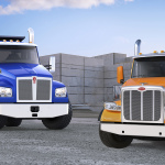 Kenworth T880S and Peterbilt Model 567 SFFA Vocational Trucks (Photo: Business Wire)