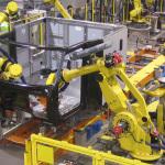 Peterbilt's Denton, Texas Factory Robotic Cab Assembly Equipment (Photo: Business Wire)