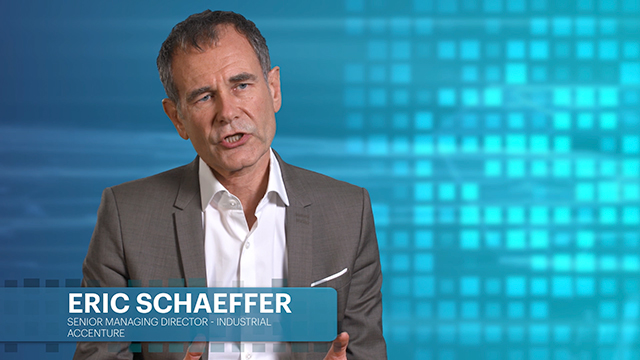 Accenture's Eric Schaeffer discusses Industry X.0, realizing digital value in industrial sectors