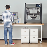 The DM Studio System is the world's first affordable, office-friendly metal 3D printing system. (Photo: Business Wire)