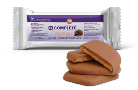 Tylactin™ COMPLETE Bars help with the dietary management of Tyrosinemia (TYR). (Photo: Business Wire)