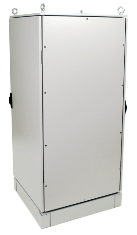 CPI's RMR Free-Standing Enclosure provides exceptional material ingress protection for equipment in nonhazardous indoor or outdoor locations. (Photo: Business Wire)