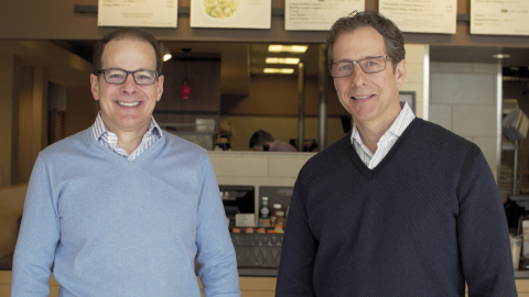 From left to right David Peterman and Mitchell Roberts partners in PR Management Corp. (Photo: Business Wire)