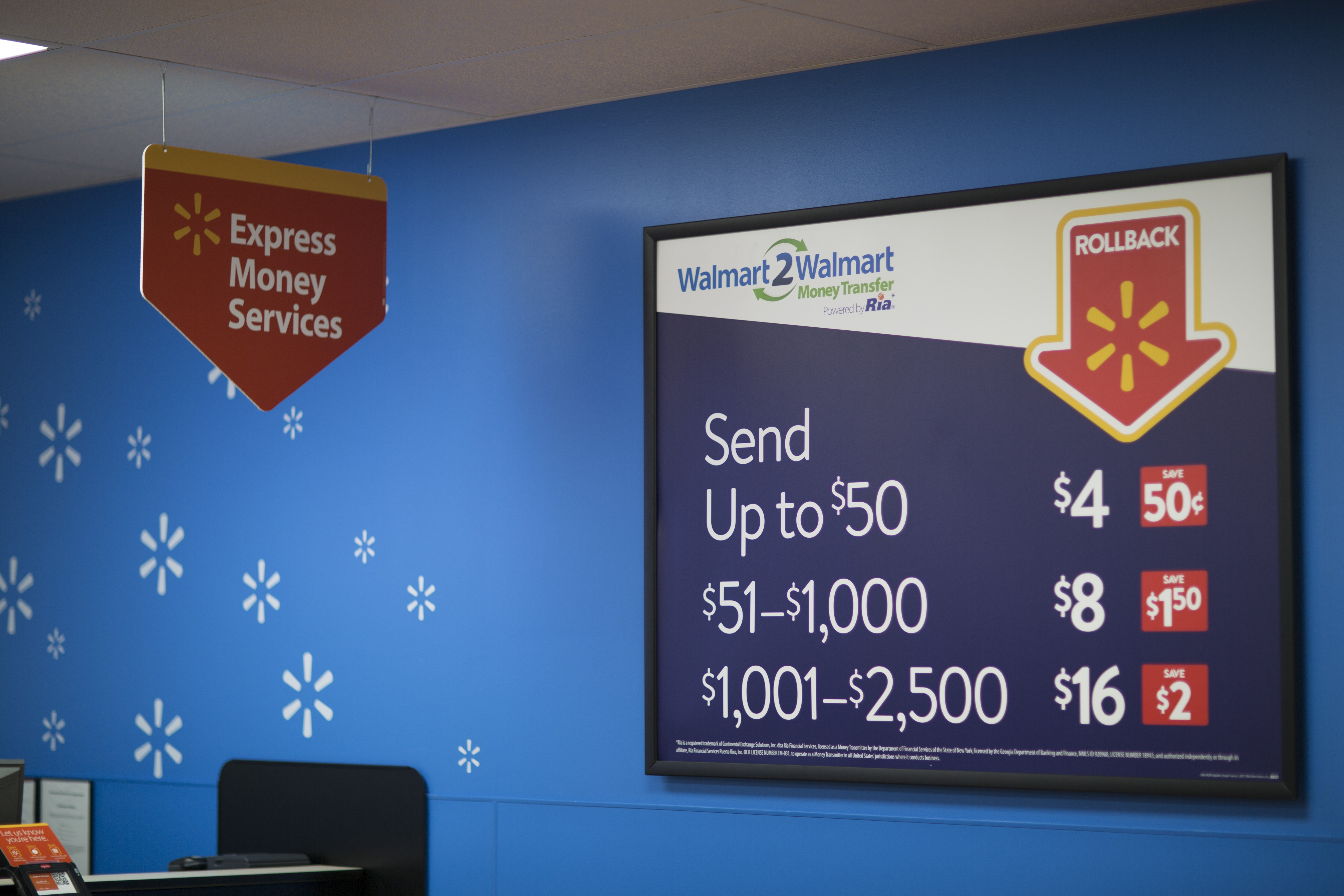 Despite already offering some of the industry's lowest prices on money transfers, Walmart is slashing prices again on its Walmart2Walmart money transfer service. (Photo: Business Wire)