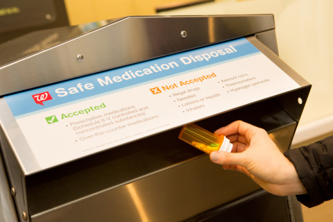 Walgreens has collected and safely disposed of 72 tons of unwanted medication through their safe medication disposal program. (Photo: Business Wire)