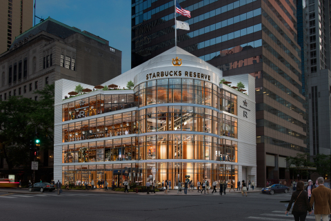 Starbucks Announces Reserve® Roastery Coming to Chicago's Mag Mile in 2019 (Photo: Business Wire)