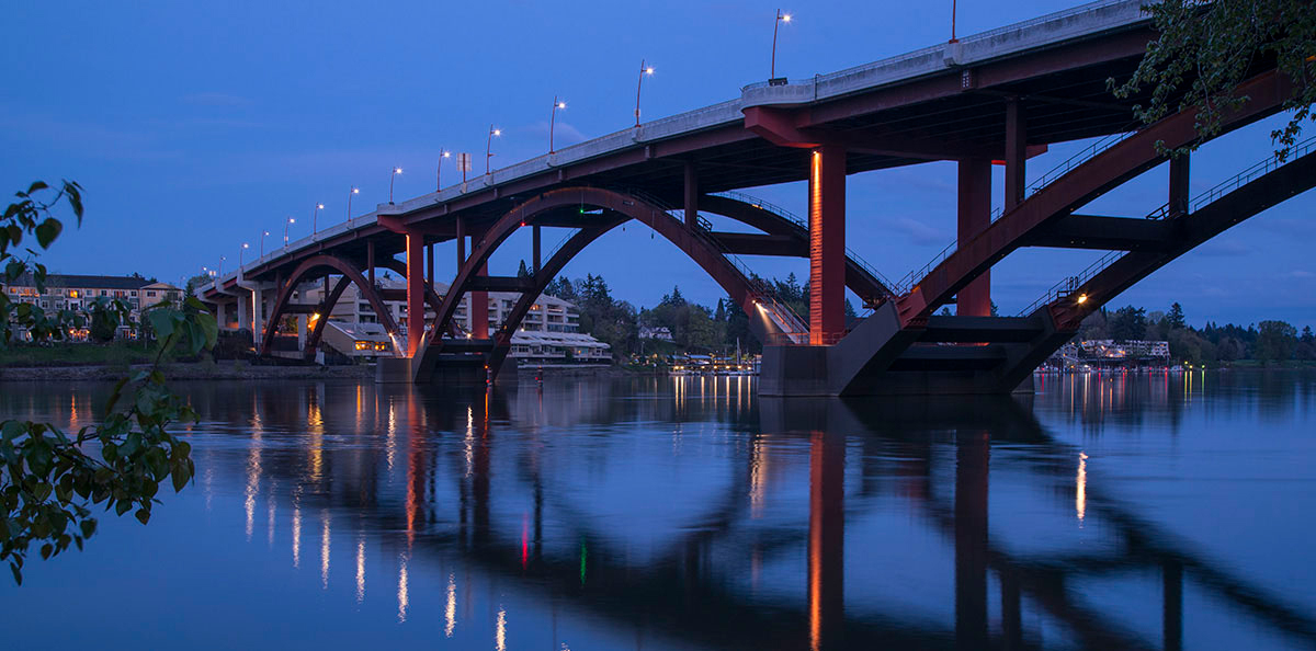 Sellwood Bridge, Portland, Oregon (Photo credit: Tom Paiva Photography)