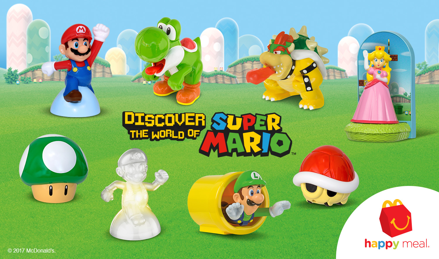 Mcdonald S Happy Meals Power Up With Toys Based On Mario