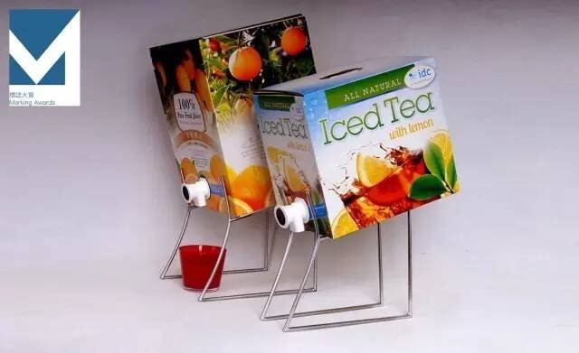獲獎產品。採用IDC公司The Answer無菌旋塞的Doehler果汁包裝盒。(照片:美國商業資訊)