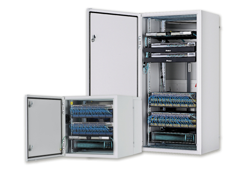 12U and 26U IDF Installation Examples (Photo: Business Wire)