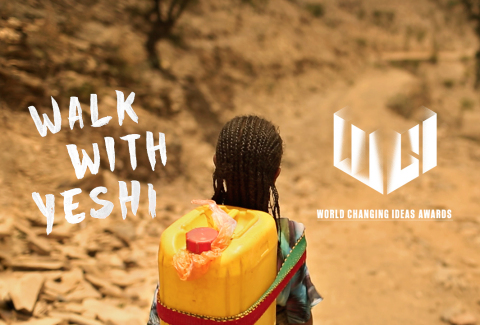 AKQA's Walk With Yeshi honoured in Fast Company's World Changing Ideas (Graphic: Business Wire)