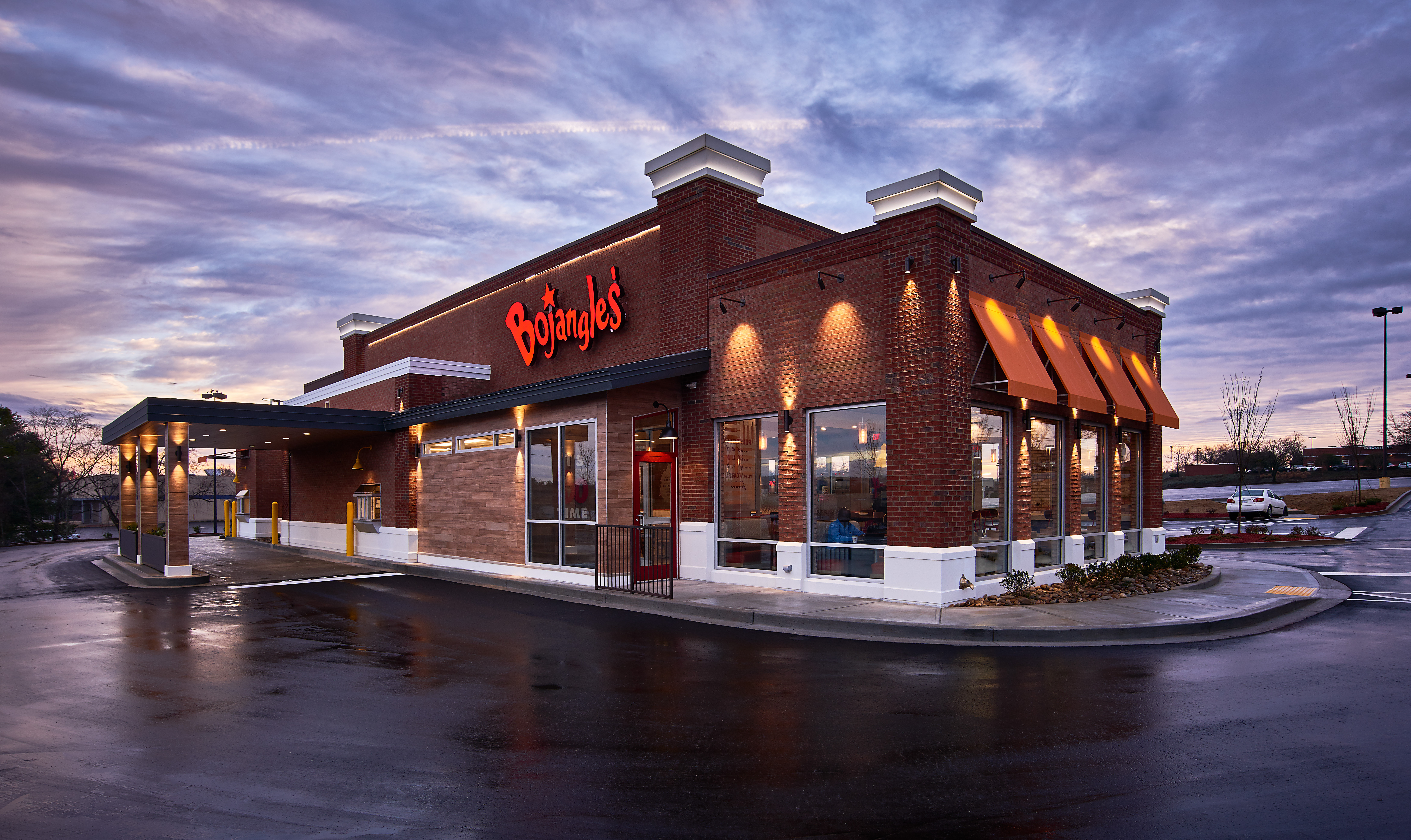 Bojangles' has invested in the development of a dynamic new restaurant design, which will bring a modern ambiance to complement its freshly-made, high-quality food and restaurant hospitality. (Photo: Bojangles')