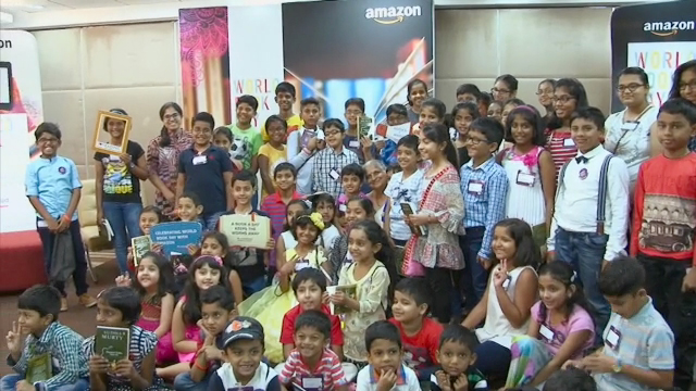 In honor of World Book Day, Amazon hosted a Global Free Library event series, where communities around the world were invited to celebrate their love of reading and books. Global Free Library events were held in Brazil, Canada, China, France, Germany, India, Italy, Japan, Mexico, Spain, the United Kingdom and the United States. Check out some of our favorite scenes of people sharing their #LoveToRead.