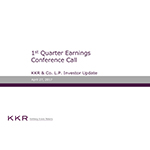 KKR & Co. L.P. Supplemental Operating and Financial Data for the Quarter Ended March 31, 2017
