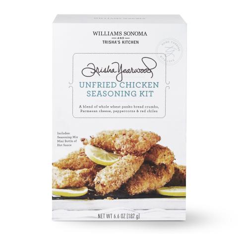 Williams Sonoma and Trisha's Kitchen Unfried Chicken Seasoning Kit (Photo: Business Wire)