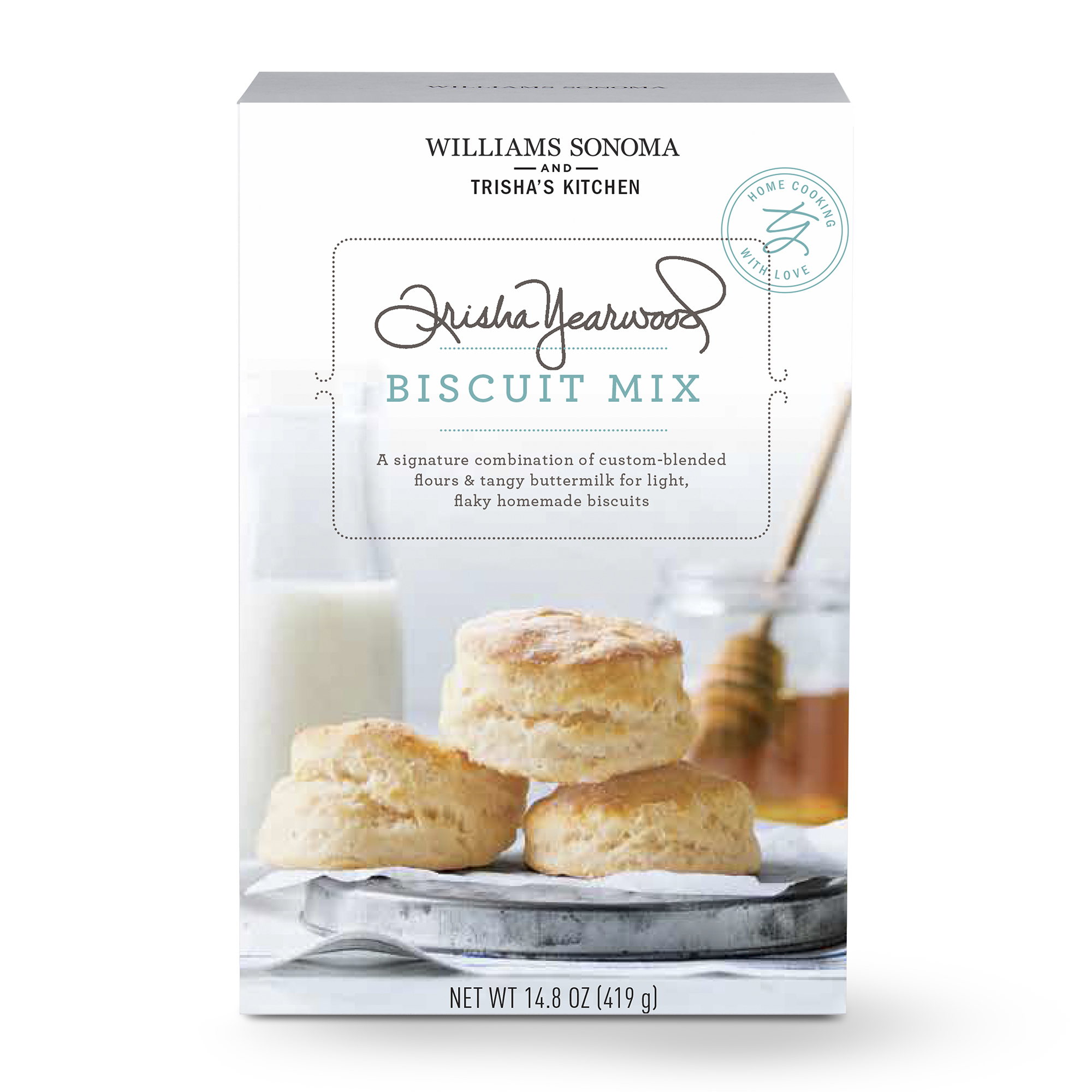 Williams Sonoma and Trisha's Kitchen Biscuit Mix (Photo: Business Wire)