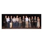 From L-R: Jerry L. Mills, Founder and CEO; Dennis Niven; John Lychos Jr.; Colin G. Funk; Christopher L. James; Greg Simmons; David Odom; Dave Saunders; Glen J. Katlein; Bruce Benes; Wayne Lorgus; Christine Mills (Photo: Business Wire)