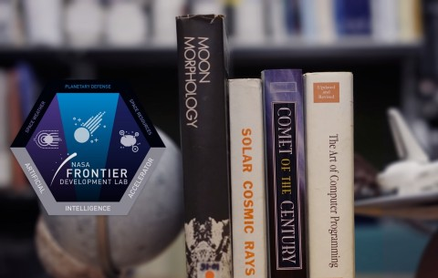 Frontier Development Lab 2017 Patch and science topics (Photo: Business Wire)