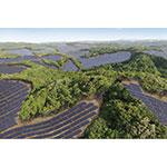 Rendering of the Kanoya Osaki Solar Hills Solar Power Plant (Graphic: Business Wire)
