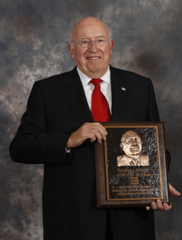 AGCO's Robert J. Ratliff was inducted into the AEM (Association of Equipment Manufacturers) Hall of Fame in 2014. (Photo: Business Wire)